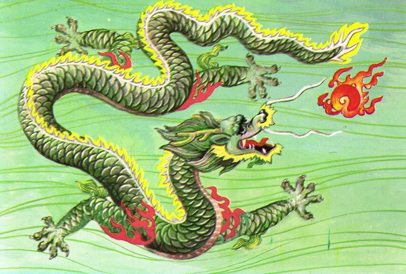Chinese Year of the Dragon- 2012: The Dragon and the Rooster – A